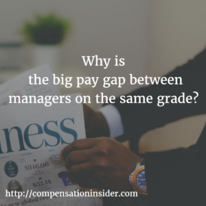 Why the big pay gap between managers on the same grade