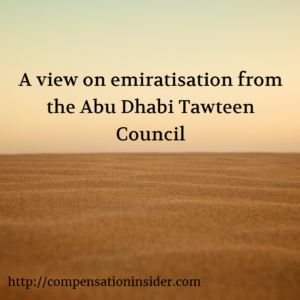 A view on emiratisation from the Abu Dhabi Tawteen Council