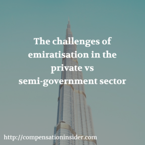 The challenges of emiratisation in the private vs semi-government sector