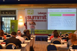 Keynote speaker in Compensation & Benefits at Lebanon HR Summit 2015