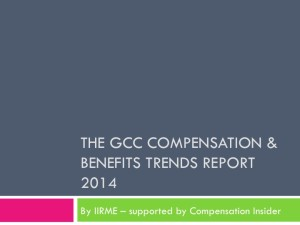 The GCC C&B Trends Report 2014