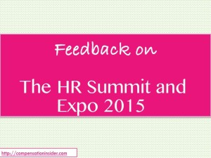 Explore some of the best C&B and HR sessions from the HR Summit and Expo 2015