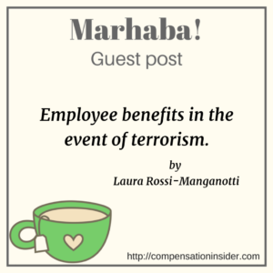 Employee benefits in the event of terrorism