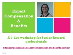 Expert Compensation and Benefits training