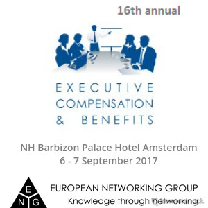 Executive Compensation & Benefits conference 2017 by ENG
