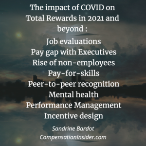 The impact of Covid on Total Rewards in 2021 and beyond