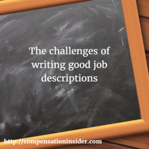The challenges of writing good job descriptions