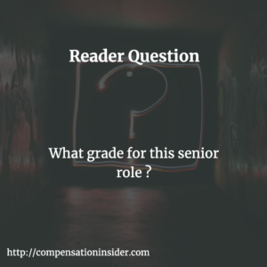 What grade for this senior role ?